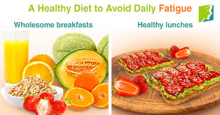 healthy diet to avoid daily fatigue
