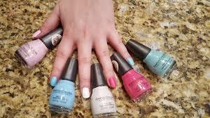 sinfulcolors spring nail polish review