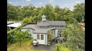 octagonal garden house with a bizarre plan in denmark youtube