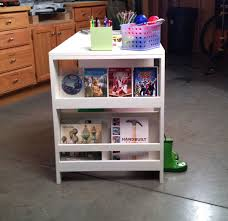 Desk And Bookshelves by Ana White Kids Storage Leg Desk Diy Projects