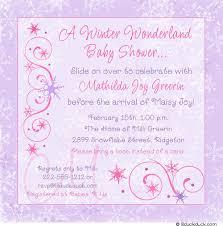Winter Wonderland Baby Shower Winter Baby Shower Invitations Frozen Personalized Event