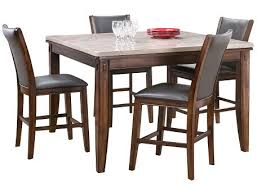 slumberland eileen collection marble dining table