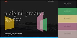 minimalist color palette 2016 50 gorgeous color schemes from stunning websites visual learning