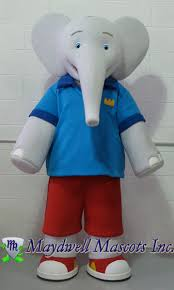 elephant mascot u2013 babar u0026 badou maydwell mascots