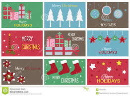 christmas gift cards stock photo image 17126300
