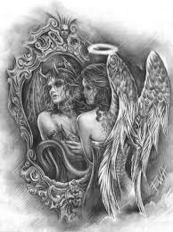 25 unique angel demon tattoo ideas on pinterest angel devil
