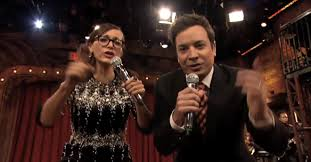 jimmy fallon and rashida jones one direction and