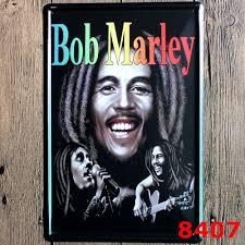 bob marley home decor bob marley vintage home decor tin sign musical bar pub wall decor