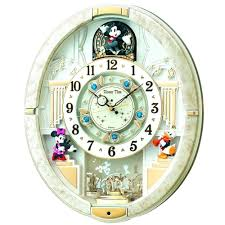seiko qxm362brh melodies in motion garland musical wall clockseiko