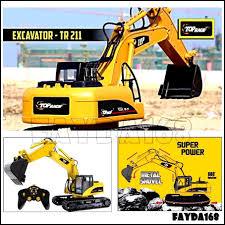 1 12 rc hydraulic metal excavator 4200xl not tamiya wedico ebay
