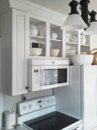 kitchen appliance storage cabinets white laminted countertop wood