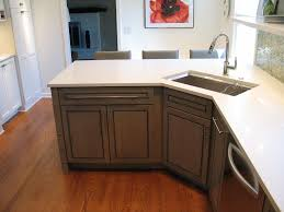 100 small kitchen design with peninsula white cabinets and