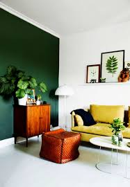 in livingroom living room simple modern green walls in living room