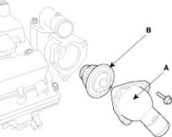 2005 hyundai elantra thermostat repair guides thermostat removal installation autozone com
