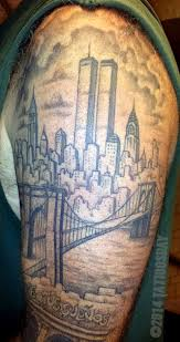 tattoosday a tattoo blog new york city in black and gray