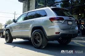2017 jeep grand cherokee custom jeep grand cherokee with 20in fuel recoil wheels exclusively from