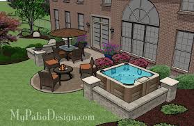 Outdoor Patio Design Tub Patio Design Patio Designs And Ideas Outdoor Living