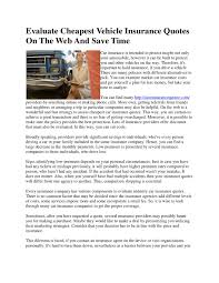 evaluate est vehicle insurance quotes 5 by auto