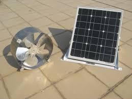 25w solar fan kit