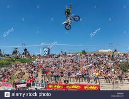 freestyle motocross ramps butte montana usa 26th july 2013 freestyle motocross riders