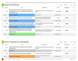 task manager project planning template tool