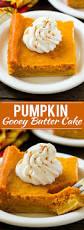 thanksgiving cake recipes pumpkin gooey butter cake dinner at the zoo