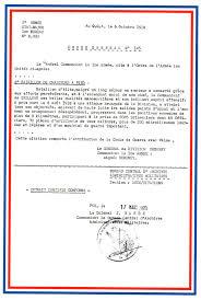 bureau central des archives militaires les citations du bataillon de sidi brahim bataillon de sidi brahim
