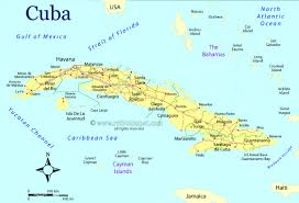Ualbany Map Cuba By Daniel Gomez