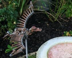 recycled metal garden ornaments uk recycled metal garden ornaments