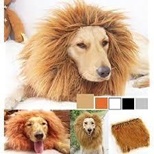 amazon black friday pet sales amazon com lion mane for dog lion mane dog costume by pet krewe
