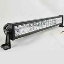 Emergency Light Bars For Trucks 120w 24 Inch Led Car Light Bar Off Road Light Driving Lamp Combo
