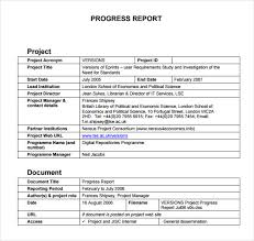 research project progress report template searching for reliable term paper sles in mla style iep