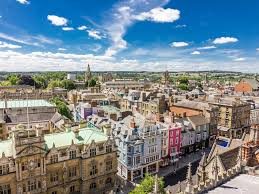 Oxford England Map by Oxford Summer Business Worldstrides Educational Travel