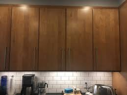 how to make kitchen cabinet doors even overlay cabinet doors hit each other won t properly