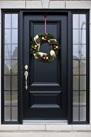 front door ideas black front door illionis home