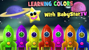learn rocket ship colors colours for kids learning colors with