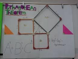 pythagorean theorem lesson pperfect squares