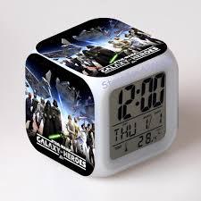 online get cheap alarm clocks digital watch led color changing
