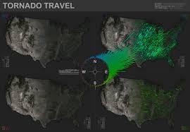 Tornado Map Tornado Travel Map Visual Ly