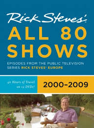 rick steves europe all 80 shows dvd boxed set 2000