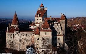 u0027dracula u0027s castle u0027 romania daily mail