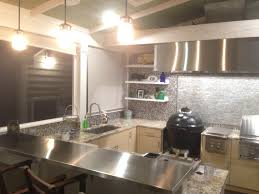 countertops stainless steel countertops vs granite others image