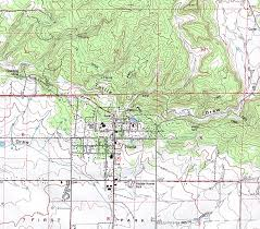 Arizona Elevation Map by Biomes