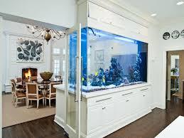 dining room table fish tank amazing built in aquariums in interior design