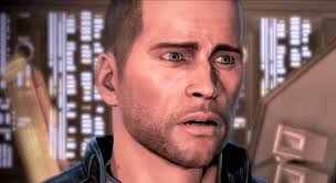 Shocked Meme Face - shocked shepard reaction images know your meme