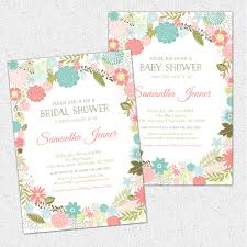 Shabby Chic Online Stores by Retro Modern Flowers Bridal Baby Shower Invitations Floral