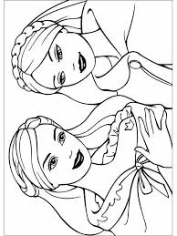 coloriage princesse barbie les beaux dessins de meilleurs