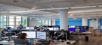 open office lighting design the right lighting design can turn office space into a company showcase
