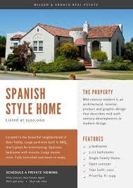 flyer property real estate flyer templates canva