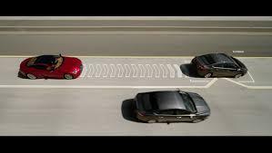 lexus minority report sports car lexus u0027 u0027lane valet u0027 system will push slow cars out of your way